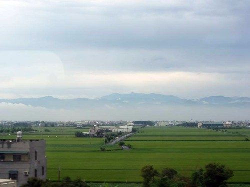 View Outside THSR Window