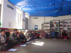 Attendees in interaction program [Biswamitra Library]
