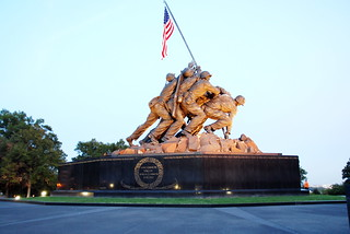 Marine Corps War Memorial, Felix de Weldon Design 1955