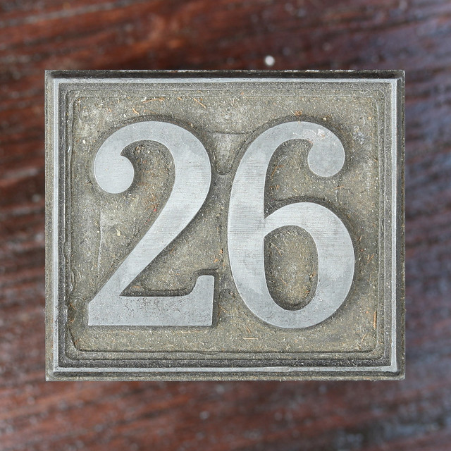 Calendar Number 26 | Flickr - Photo Sharing!