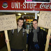 UU Coleraine protest against fees
