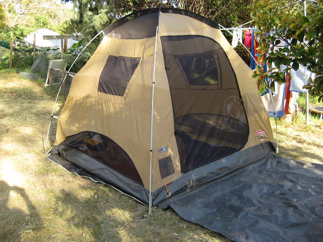 Sleeping In Tent In Backyard : Tent in Backyard  Flickr  Photo Sharing!
