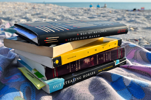 Our beach reading, partly