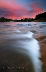 The American River at Sunset