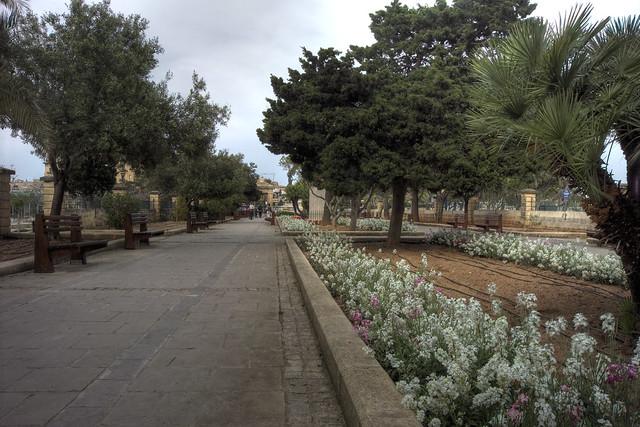 Gardens in Floriana