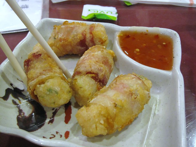 "royal china - shrimp and ""chinese"" bacon egg rolls | Flickr - Photo..."