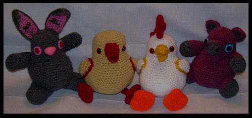 Amigurumi Potbelly Farm Animals: the group photo! Flickr ...