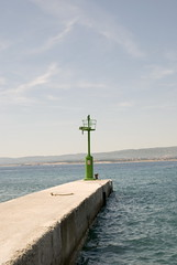 Lighthouse in Crikvenica