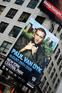 Paul van Dijk at Central Park