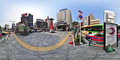 The front of Asakusa Station