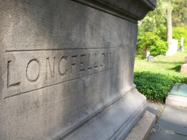 longfellow's grave