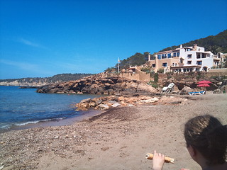 Bild von Cala Xarraca. sea holiday beach ibiza 2010