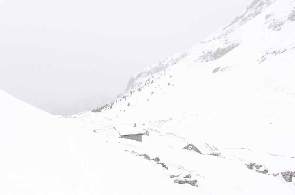 Parc naturel de la Vanoise - Randonnée à ski - Vers la vallée