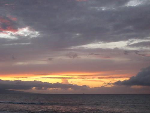 Kanapali sunset