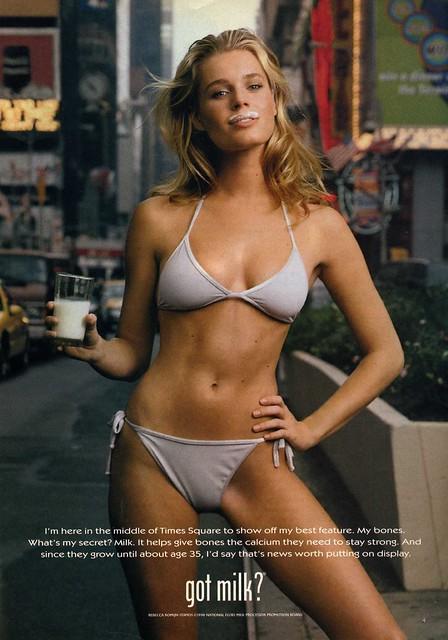 Rebecca Romijn - Got Milk 1998