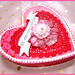 """Valentines Heart Box """"Pink Millinery"""" by Boxwoodcottage"""