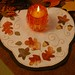 Fall Candle Mat