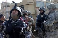Assisting Iraqi forces