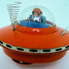 Spaceship - 1960s Japanese toy by Stefan
