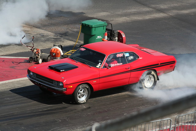 1972 Dodge Demon Burnout Flickr Photo Sharing