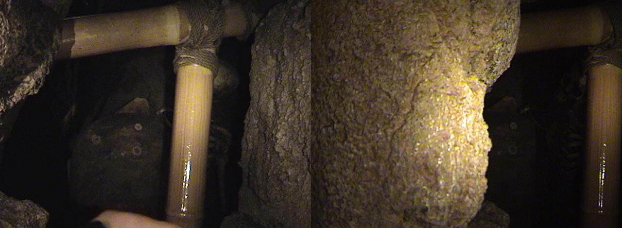 3D, Ernie Urns the Living, Queue, Indiana Jones™ Adventure - The Temple of the Forbidden Eye, Adventureland, Disneyland®, Anaheim, California, 2009.02.23 13:28