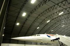 Concorde Alpha Charlie at Manchester Eco Hangar 6