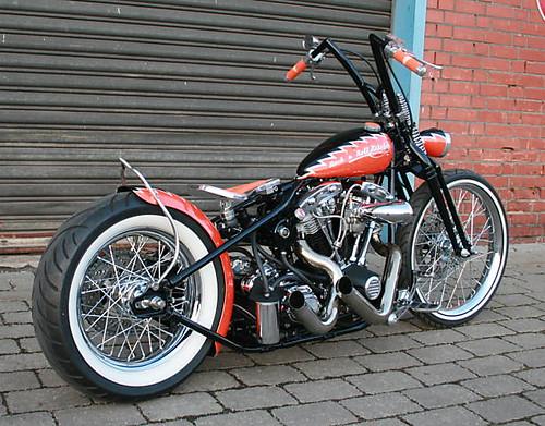 Harley Davidson Starrahmen 1957