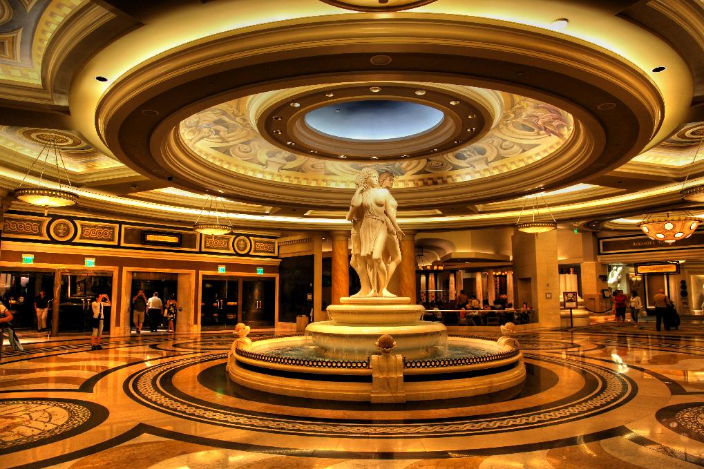 The Inside Of Caesars Palace Las Vegas Hotel Casino A Photo On