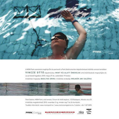 Vincze Ottó: Mint víz alatt énekelni
