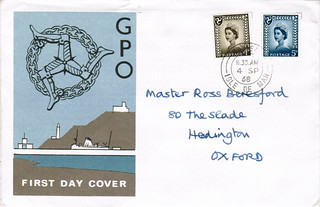 4-Sep-1968 UK First Day Cover