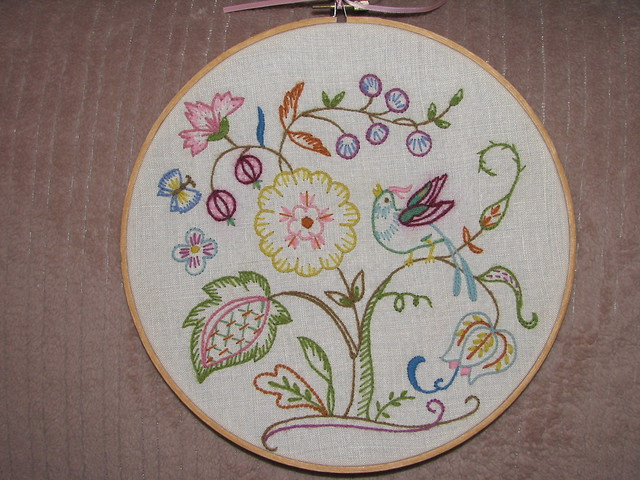 Crewel embroidery 1975