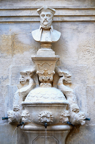Nostradamus Fountain, Saint Remy de Provence, France