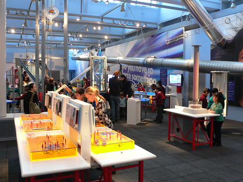 Launchpad centre at the Science museum, London