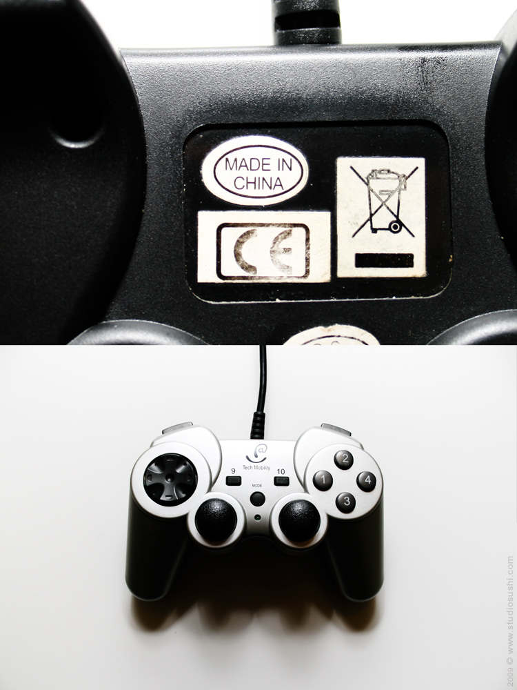 #0016 - Tech Mobility gamepad - Made in China