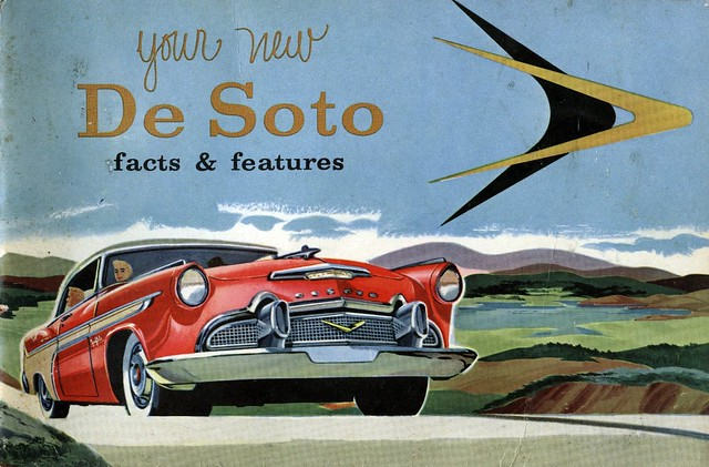 (52) 1956 DeSoto Owners Manual, by Bill McChesney