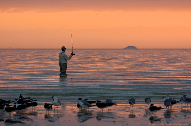 Fishing off bunche beach ft myers fl flickr photo for Fort myers florida fishing