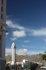Cross tower