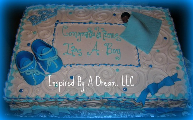 it 39 s a boy baby shower cake flickr photo sharing