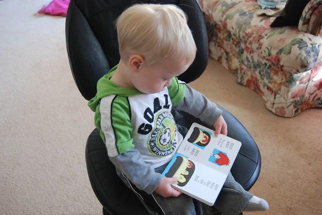 his new favorite book