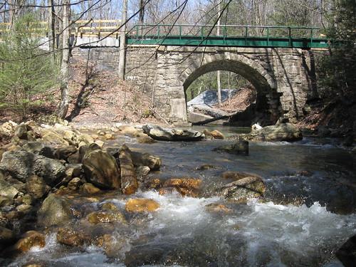 bridge lebanon stream pennsylvania trail appalachian appalachiantrail rausch rauschgap