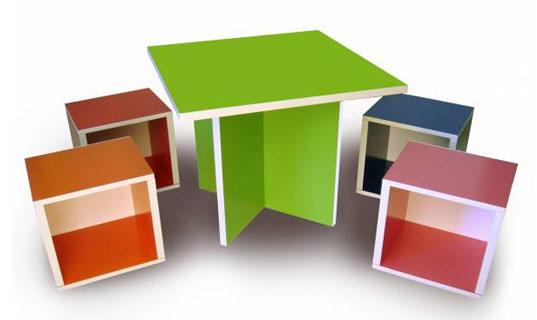 Muebles de papel reciclado diario ecologia for Muebles flat pack