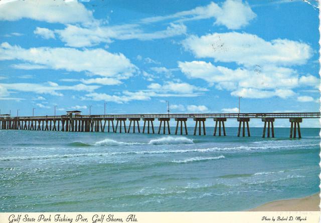 Alabama gulf state park fishing pier gulf shores for Gulf shores alabama fishing
