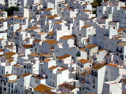A white village in Andalucia.......