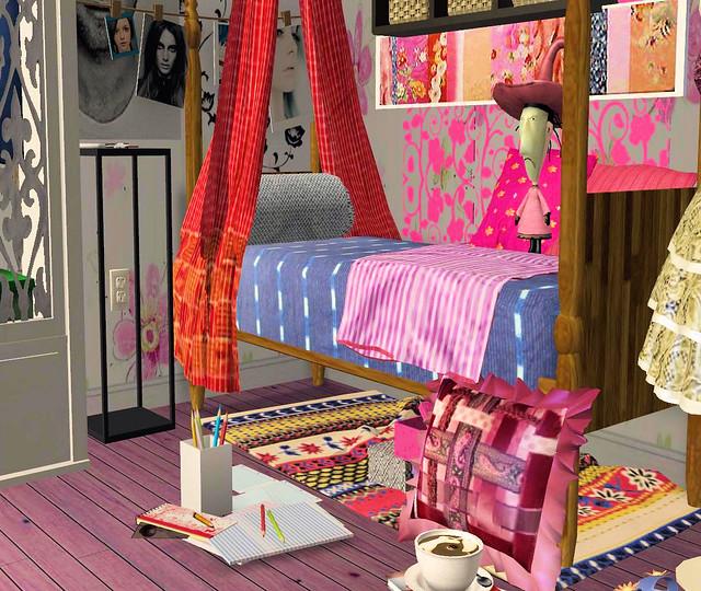 Decorating Ideas > Juliets College Dorm Room 4  Flickr  Photo Sharing! ~ 164505_Sims 3 Dorm Room Ideas