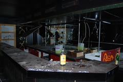 Abandoned bar