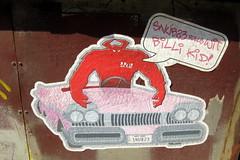 NYC - Brooklyn - DUMBO: Snub23 rolls wit Billi Kid