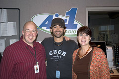 Aaron Shust with Scott & Kelli