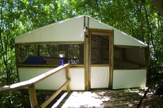 Small food garden - A Tent At Maho Bay Flickr Photo Sharing