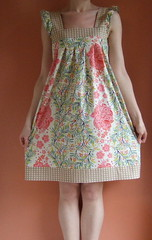 Spring Ruffle Dress 3