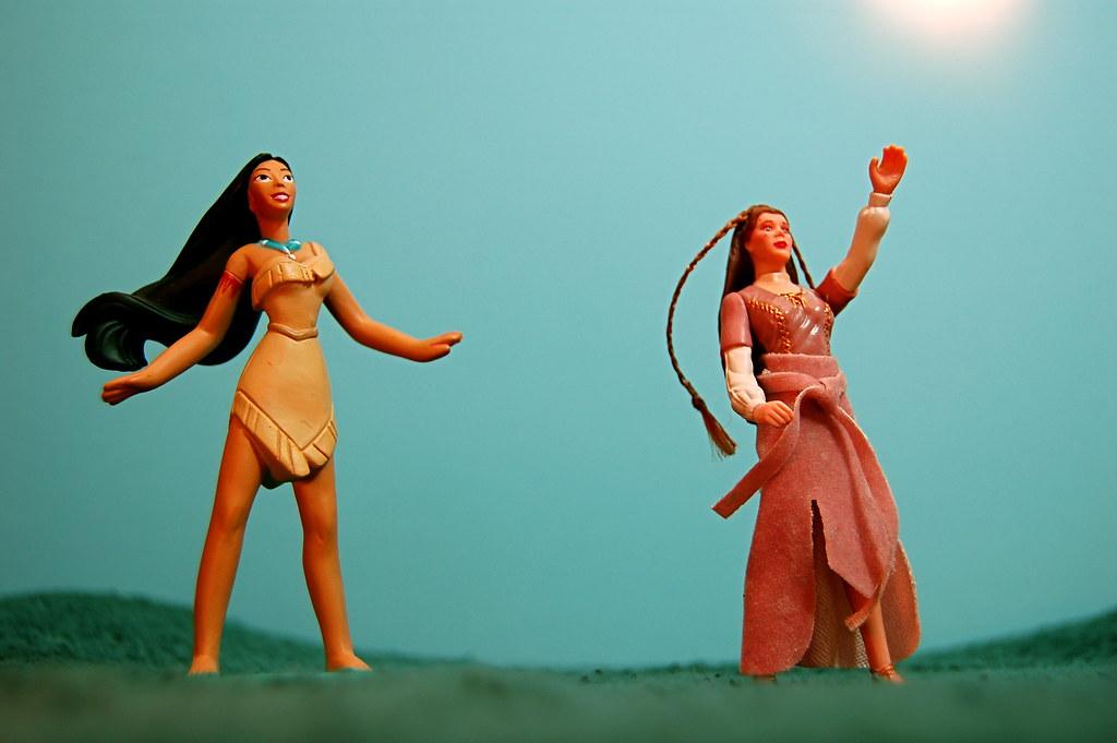 Pocahontas vs. Leia Organa (143/365)